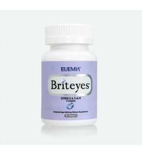 EUEMIA™ , Briteyes™ OMEGA 3-6-9 COMPLEX (90 Softgels)